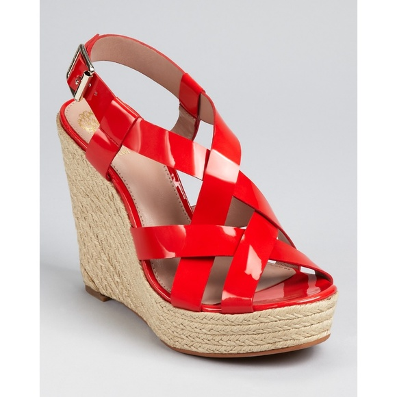 c5487365b7a Red Vince Camuto Hattie Wedge Espadrille 8.5. M 5ac676f52ae12fe471dfc6da.  Other Shoes ...